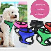Adjustable Pet Vest Collar Chain Cat Dog Harness Leash Lead Set Dog Chest Straps