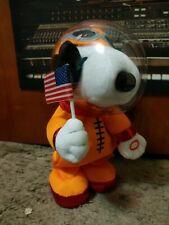 NWT Peanuts Snoopy Astronaut Moon Landing 50th Anniversary Animated Sing