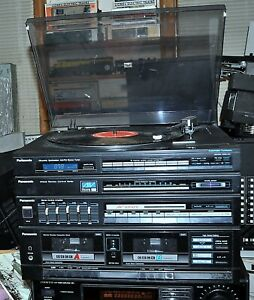 PANASONIC ALL IN ONE STEREO MUSIC SYSTEM MODEL SG-D37 COMMERCIAL SURPLUS