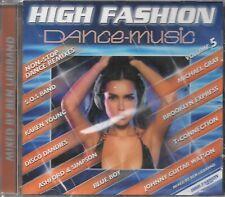 HIGH FASHION DANCE-MUSIC VOL.5 NON-STOP DANCE MIX 2021 CD MIXED BY BEN LIEBRAND!