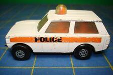 MATCHBOX LESNEY SUPERFAST # 20 1975 POLICE PATROL