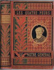Les Quatre Peurs de notre Général de P.-J. STAHL Dessin BAYARD Coll HETZEL ~1884