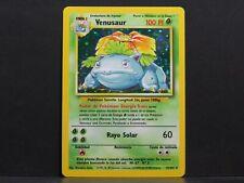 Spanish Venusaur 15/102 - Holo Base Set Pokemon Card (Mint)
