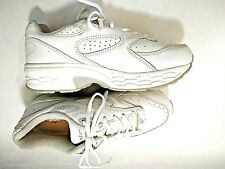 Spira Size 7 Mens White Leather Classic Walking Shoes Spring Loaded SWW201W2