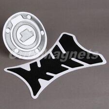 Fuel Tank Decal Carbon Gas Pad Cap Sticker Suzuki Gsx-r 1000 2000-2002 Gsx1400