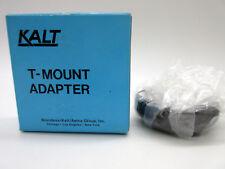 New Kalt T-Mount Adapter For Minolta Made in Japan