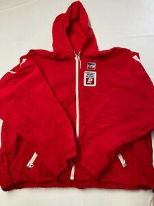 Mens LEVIS Vintage Olympics National Sports Festival Windbreaker Jacket Sz 2XL