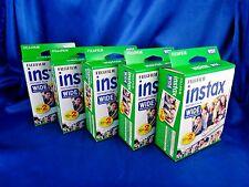 Fujifilm Instax Instant Film Wide 5 Twin Packs 100 Prints