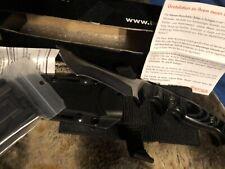 Boker brand Knife 02BO110 Rampage Fixed Blade Brand New Mikarta And Steel
