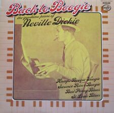 NEVILLE DICKIE - BACK TO BOOGIE  - LP