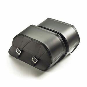GENUINE Triumph Bonneville T100/T120 Leather Pannier Kit A9518178 NEW - £350 OFF