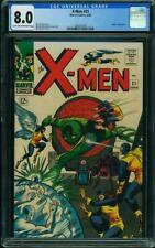 X-Men #21 CGC 8.0 -- 1966 -- Lucifer. Werner Roth cover. #1285151001