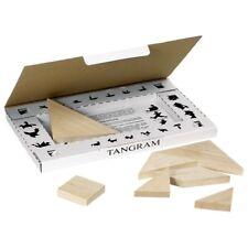 Goki Tangram Legepuzzle Legespiel Bilder nachlegen Lernspiel Holzpuzzle