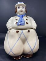 Vtg 1940s Shawnee Pottery Jack Dutch Boy Cookie Jar