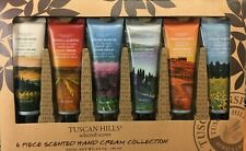Tuscan Hills 6 Scented Female Hand Creams Gift for Her