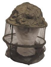 MFH Moskitokopfnetz Oliv mit Metallring Moskitonetz Insektenschutz Hutnetz