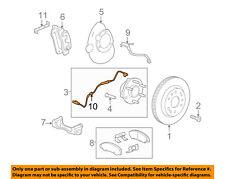 GM OEM ABS Anti-lock Brakes-Front Speed Sensor 23498355