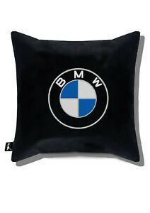 BMW Embroidery Print car black Pillow Case Personalized Cover Sofa 15,75x15,75in
