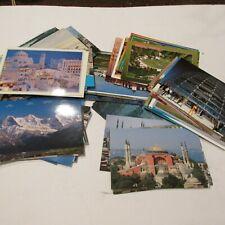 Over 100 World Postcards Unused