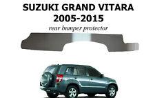 Rear Bumper Sill Plate Guard for Suzuki Grand Vitara 3d 5d 2005- Scuff Protector