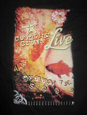 """2000 Counting Crows """"Live"""" Local Crew Concert Tour (Xl) T-Shirt"""