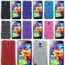 TPU Cover For Samsung Galaxy S5 G900F Hard Wearing Silicone Gel Case