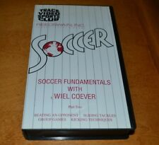 Soccer Fundamentals with Wiel Coerver VHS Sliding Tackles Kicking Techniques