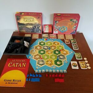 Settlers of Catan Replacement Pieces Mayfair Games 2007 #3061