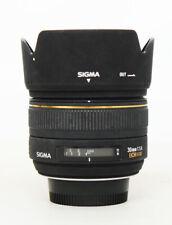 # Sigma DC 30mm F/1.4 AF HSM DC Lens For Nikon S/N 2054645