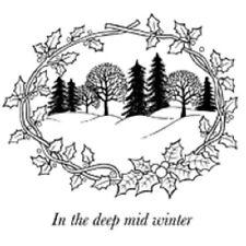 Woodware Clear Singles Magic Stamp - Winter Wonderland - JGS180