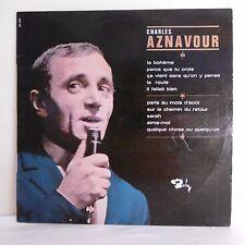 """33T Charles AZNAVOUR Vinyle LP 12"""" LA BOHEME- PARCE QUE TU CROIS  -BARCLAY 80296"""