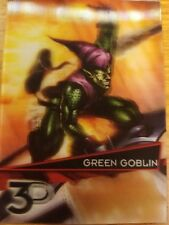 2015 Upper Deck Marvel 3D #30-3D Green Goblin Lenticular Variant NM-Mint