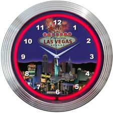 Las Vegas Strip Neon Clock