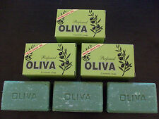 3 OLIVIA OLIVE OIL SOAPS WITH LEVANDER PERFUMED (3X125gr)