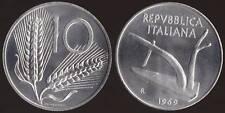 10 LIRE 1969 FDC FIOR DI CONIO