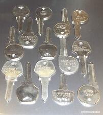 Vintage-Harley-Davidson-Ignition-Gas-Cap-Fork-Lock-Keys-Custom Cut to your Code#