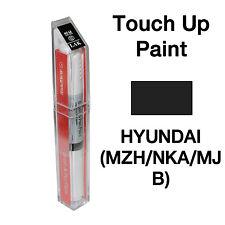 Hyundai OEM Brush&Pen Touch Up Paint Color Code : NKA / MZH / MJB - Black Noir