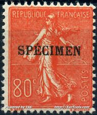 FRANCE TYPE SEMEUSE COURS INSTRUCTION N° 203CI1 NEUF * AVEC CHARNIERE
