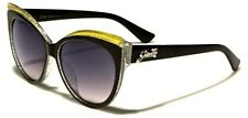 Gorgeous Womens Black Oversized Cat Eye Sunglasses Pin Up Rockabilly Psychobilly