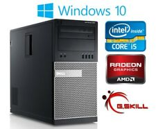 Dell Gaming Computer PC Intel i5 3.1Ghz 8GB RAM 500GB AMD Radeon HD 7970 Win 10