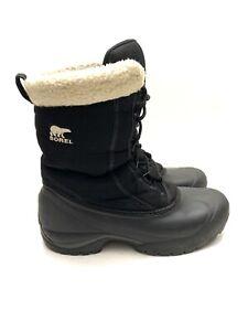 "Sorel Cumberland Insulated Winter 8"" Boots Black NL1436-010 Women's 8.5"