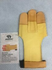 Bear Paw Classic  Archery Shooting Glove, Small For Both Right & Left Shooters