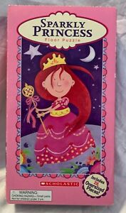 Sparkly Princess Floor Puzzle 28 Oversized Pieces! Scholastic