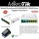 Mikrotik Routerboard hEX PoE RB960PGS 128MB Router Gigabit 5 Ports PoE in