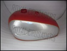 BRAND NEW BSA A7 A10 SUPER ROCKET RED PAINTED CHROMED PETROL TANK @PUMMY