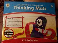 New Sealed Carson-Dellosa Thinking Mats Grade 5 Commom Core