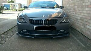 MIT GLOSSY BLACK FRONT KIDNEY GRILLE BMW E63 E64 6 SERIES 2004-2010