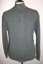 Mens Fred Perry MOD Grey Bomber Harrington Monkey Polo Jacket Blazer Coat Top XL