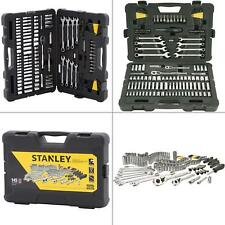 Mechanics Tool Set Wrench Sockets Kit Ratchet Ratcheting Universal 145 Piece