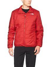The North Face Para Hombre Chaqueta waucoba, rojo, tamaño pequeño, NUEVO CON ETIQUETAS RRP £ 100